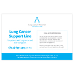 Support Line flyer