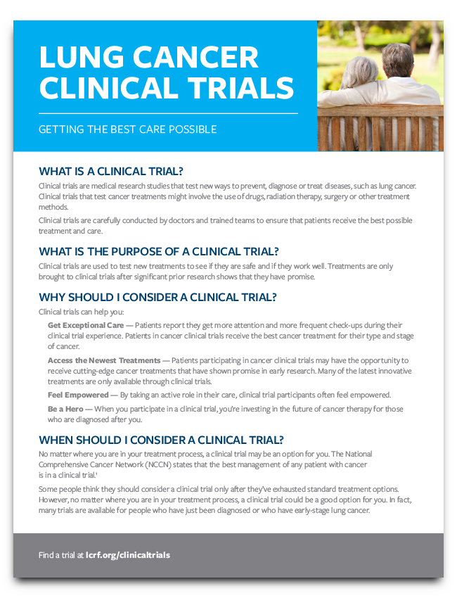 Clinical Trials Flyer